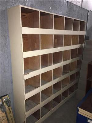 36-Cube Organizer Shelf #40180