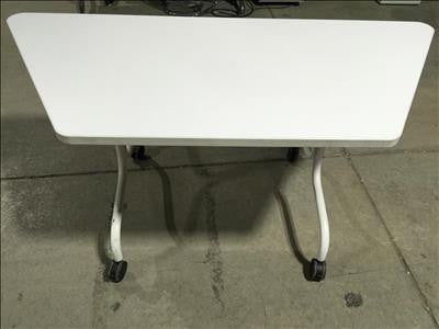 Trapezoid Shaped Fold Table #40189