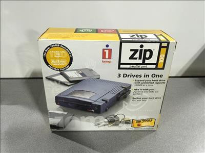 IOMEGA Zip Drive 3 Drives In 1 #41489