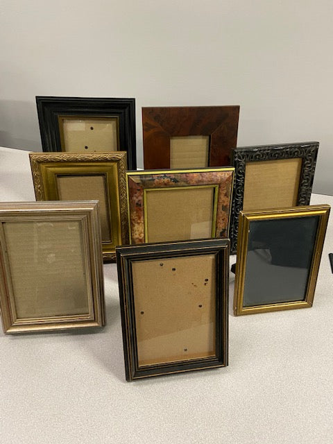 Various 5 x 7 picture frames