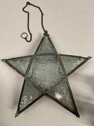 Hanging Star Candle Holder