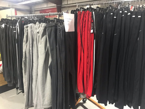 Men's Athletic Pants in Various Colors and Styles