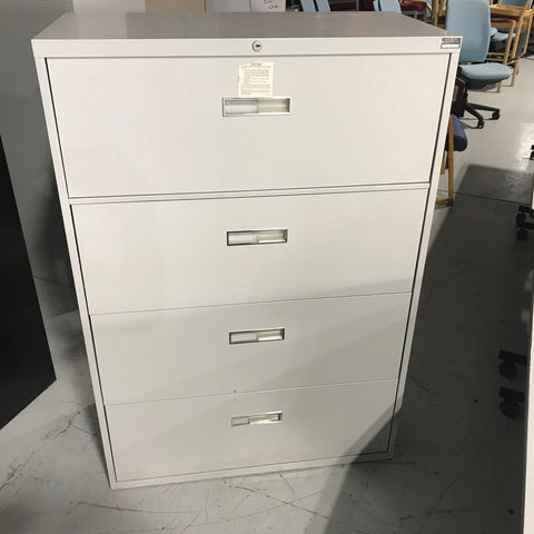 Four drawer vertical filing cabinets