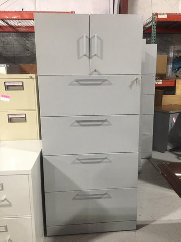 5 DRAWER FILE CABINETS