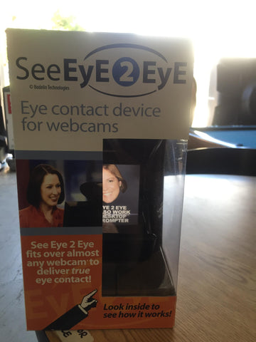 Eye2Eye *teleprompter for webcams*