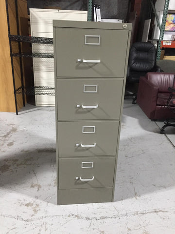 7 filing cabinets and office supplies
