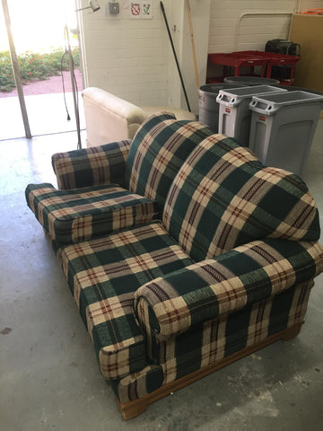 Hefty Sofas (fits 2-3 ppl)