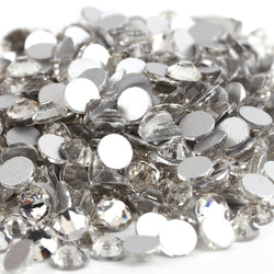 Clear Glass Crystal Non HotFix Rhinestones