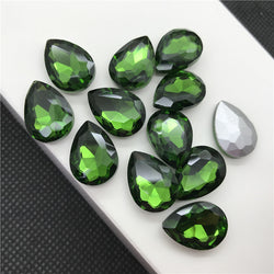 Grass Green Teardrops