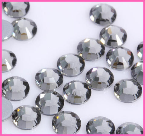 Black Diamond DMC Iron On/Hot fix Crystal Rhinestones