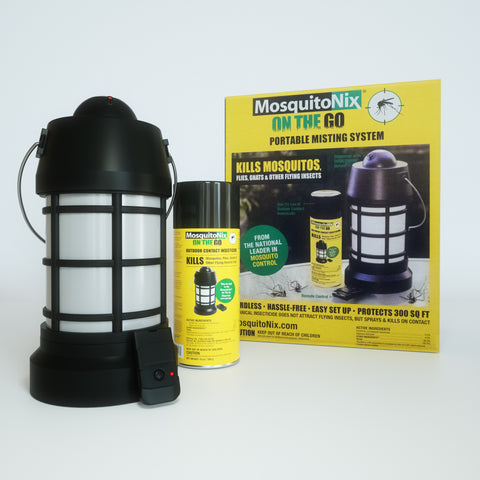 Portable Dispenser And Outdoor Contact Insecticide (Botanical Insecticide)