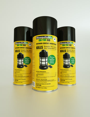 Three Pack of Refills | Outdoor Contact Insecticide (Botanical Insecticide)