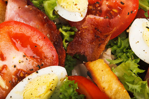 Bacon Breakfast Salad