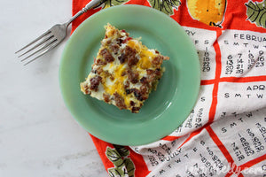 Tazz and Belly's Hashbrown Breakfast Casserole