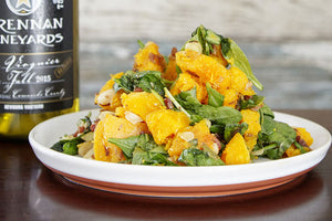 Butternut Squash Salad with Bacon-Shallot Vinaigrette