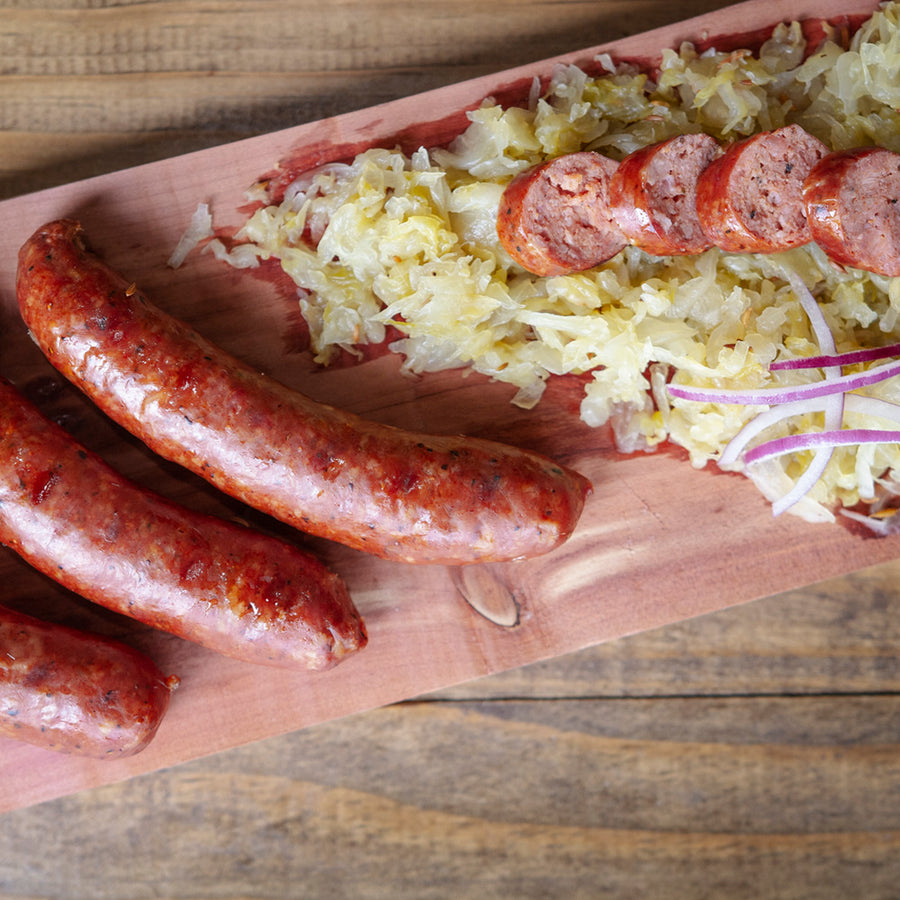 No Sugar Added Raspberry Habanero Sausage