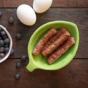 Fully Cooked Blueberry Maple Sausage Links *CONTAINS SUGAR*