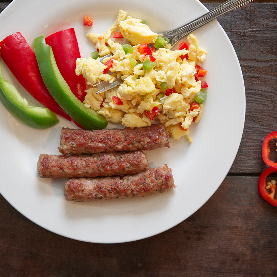 Fully Cooked No Sugar Spicy Breakfast Sausage Links
