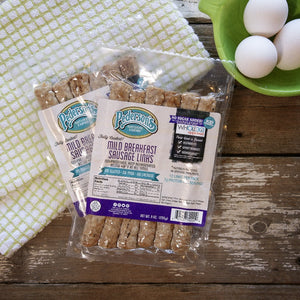 Fully Cooked No Sugar Mild Breakfast Sausage Links
