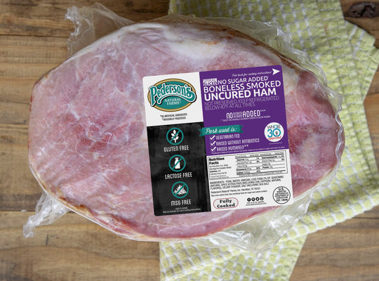 UNCURED NO SUGAR HALF HAM - SPIRAL SLICED, BONELESS
