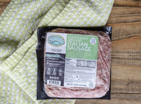 No Sugar Italian Ground Sausage