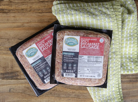 Uncured No Sugar Spicy Breakfast Sausage