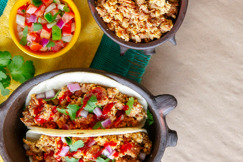 This is(SPICY) CHORIZO STREET TACOS the alt text of your image