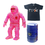Copy of VINART SUPREME Oily Maniac Collectible Set - Figurine & T-shirt - BLACK