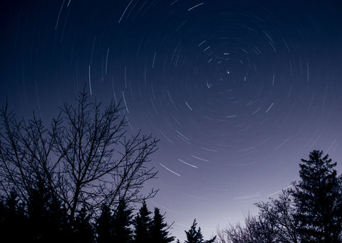 Image of the night sky with stars