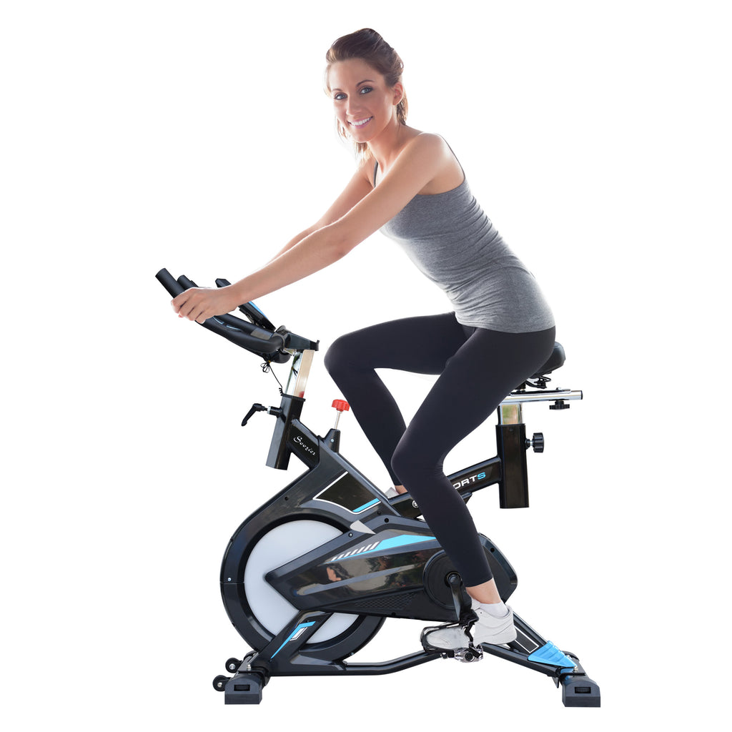 Exercise Cycling Bike with LCD Monitor