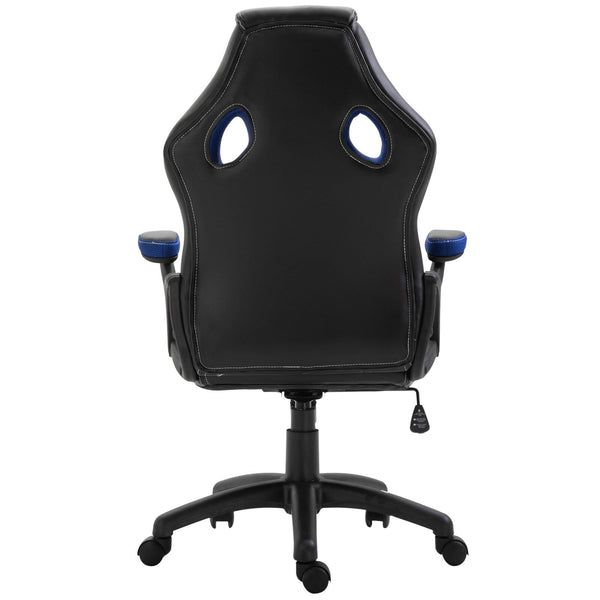 Gaming Computer Swivel Home Office Chair - Blue