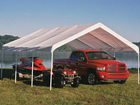18x20 ft. SuperMax 8 Leg Event Canopy Tent - White
