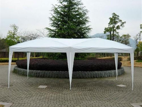 10x20 ft Pop Up Wedding Party Canopy Tent [Without Walls] - White