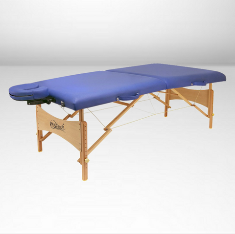 Brady Premium Portable Massage Table - Blue