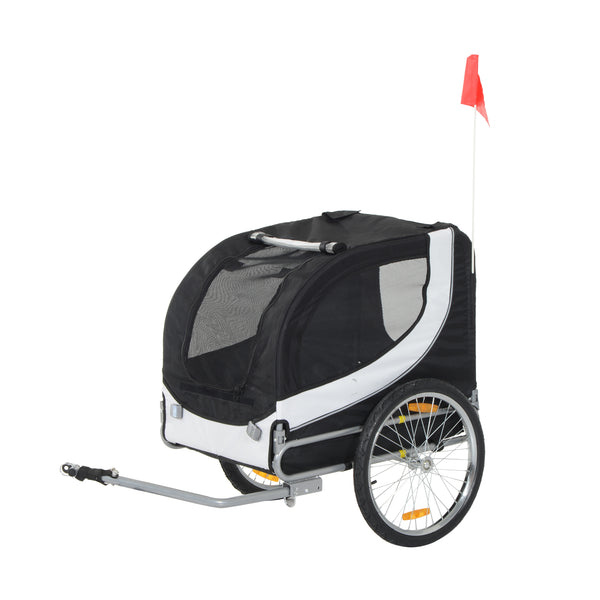 Pet Bicycle Trailer - Black