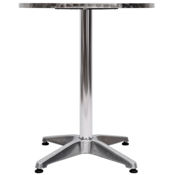 Round Bar Table - Silver