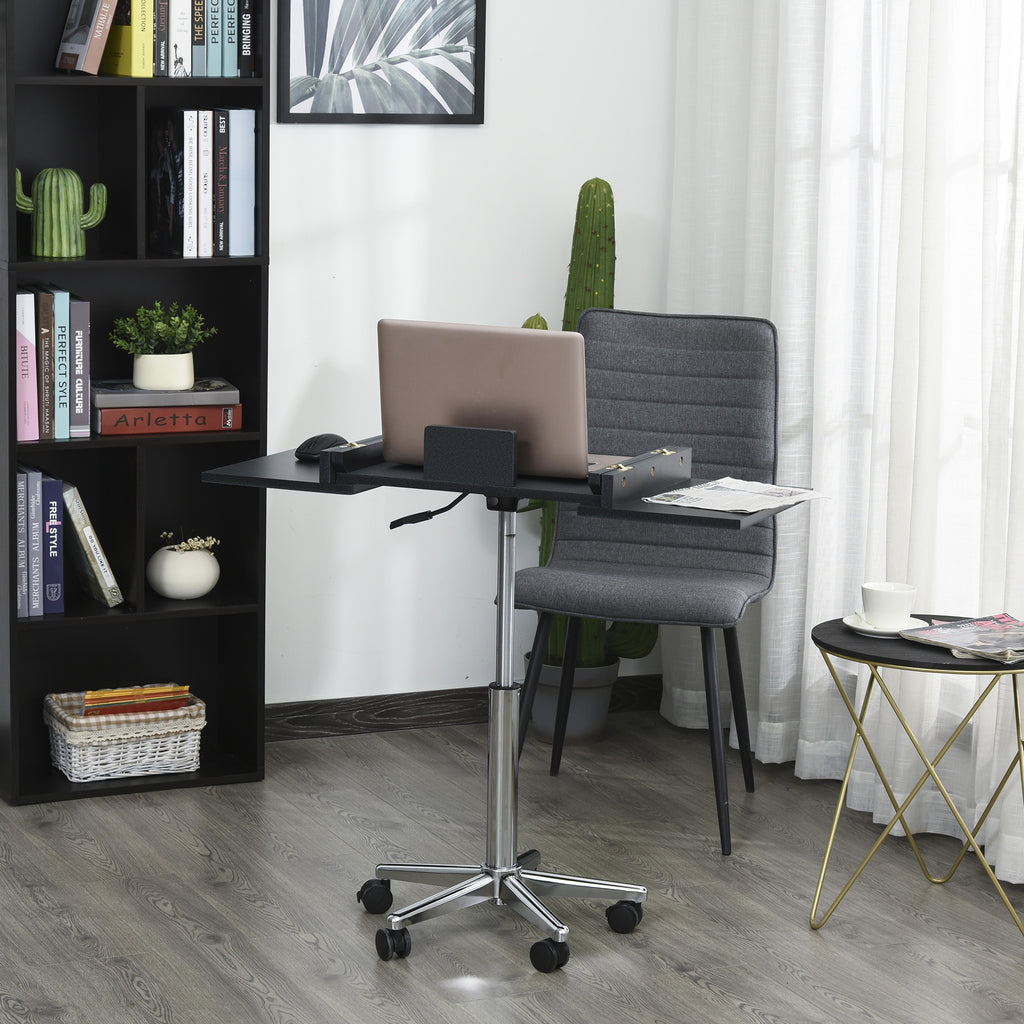 Home Office Expandable Computer Desk - Black