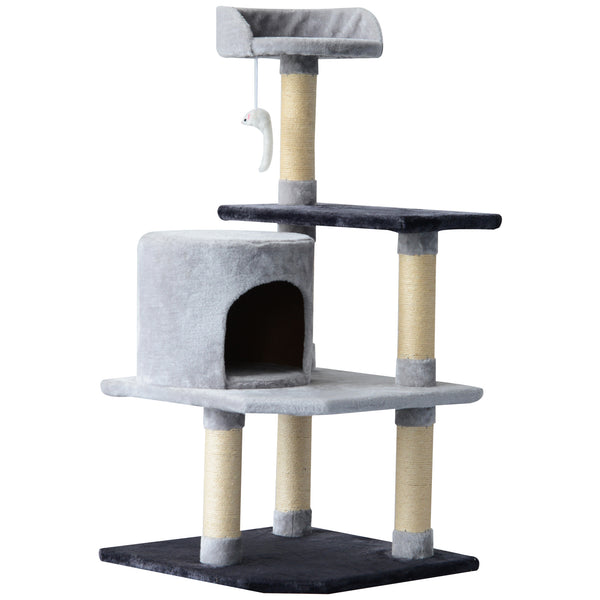 "39"" Cat Tree Condo Activity Centre - Grey"