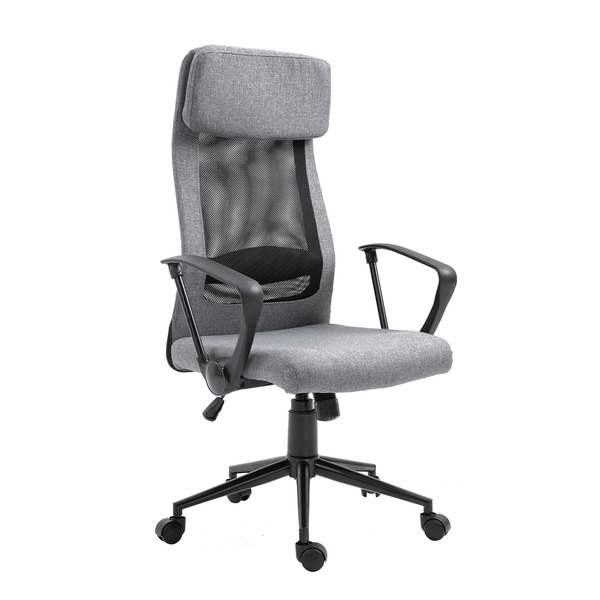 Adjustable Home Office Chair - Grey