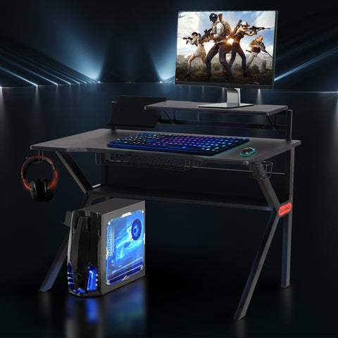 Computer / Gaming Desk - Black