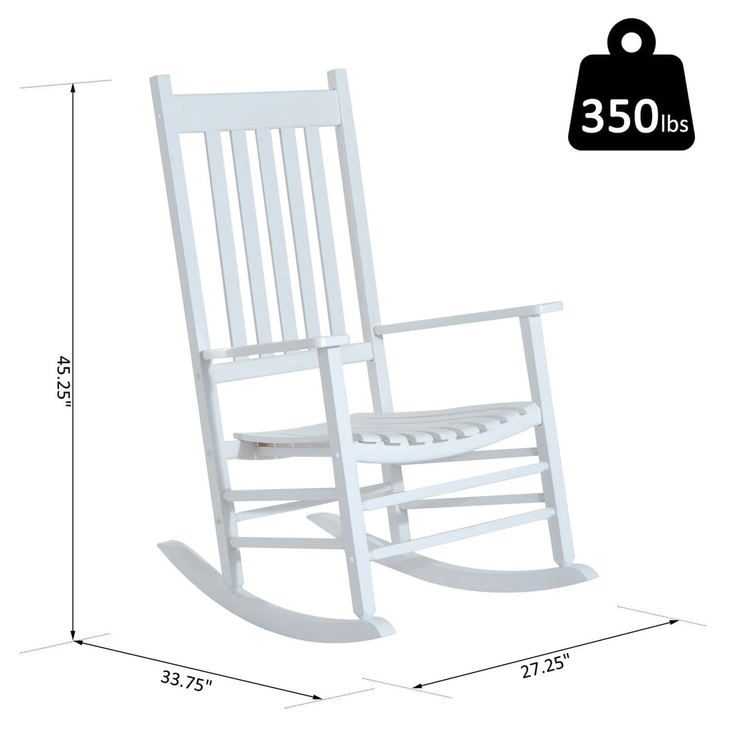 Picture of: Wooden Porch Outdoor Patio Rocking Chair Betel Canada
