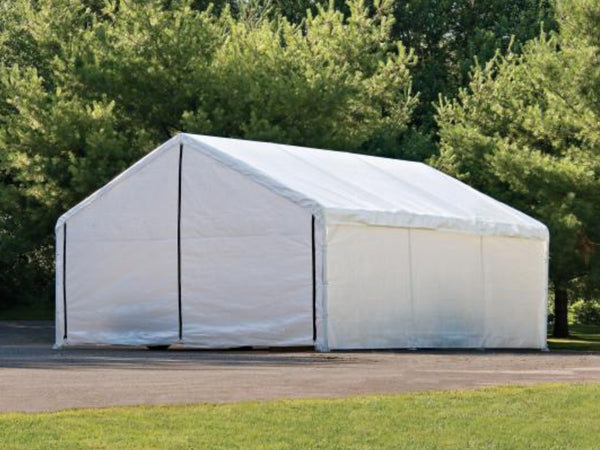 30x18 ft. Heavy Duty SuperMax Wedding Party Event Canopy Tent Fire Rated with Side Enclosure Kit