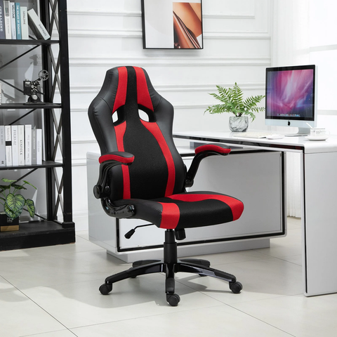 Gaming Computer Home Office Chair - Red