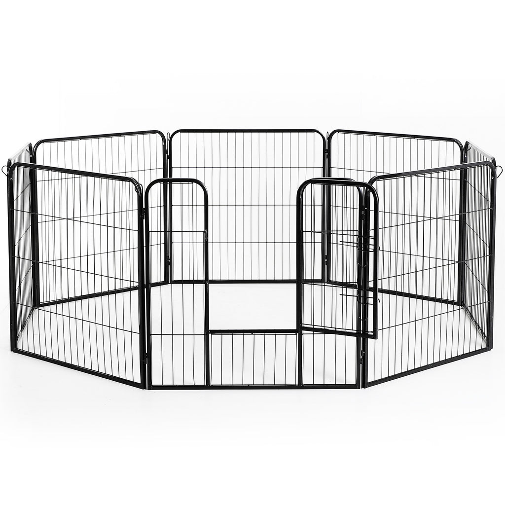 "32"" 8 Panel Metal Pet Playpen"