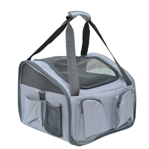 3 in 1 Pet Car Carrier - Grey