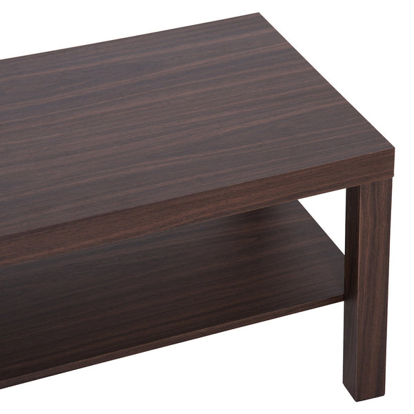 Minimal Wood Coffee Table - Walnut