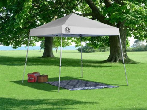 10x10 ft Slant Leg Pop-Up Canopy Tent - Assorted Colours