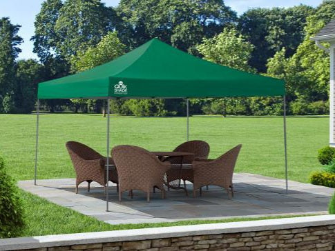 12x12 ft. Expedition Straight Leg Pop-Up Canopy Tent - Assorted Colours