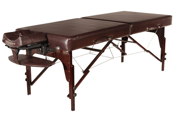 "84"" Carlyle Premium Portable Massage Table - Chocolate"