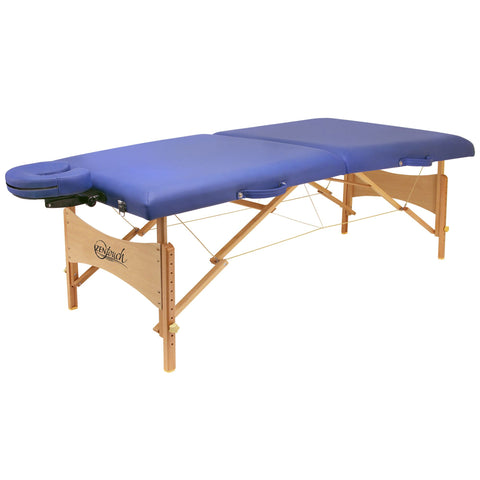 "73"" Brady Premium Portable Massage Table - Blue"